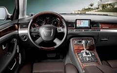 2009 Audi A8 interior