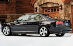 2009 Audi A8 exterior