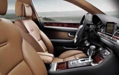 2010 Audi A8 interior