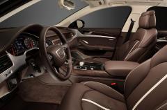 2013 Audi A8 interior