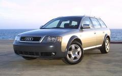 2002 Audi Allroad Quattro exterior