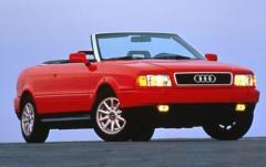 1996 Audi Cabriolet exterior