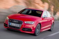 2016 Audi S3 exterior