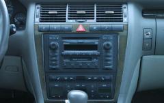 2001 Audi S8 interior