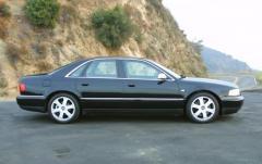 2001 Audi S8 exterior