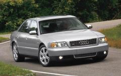 2002 Audi S8 exterior