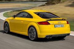 2017 Audi TTS exterior