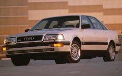 1993 Audi V8 exterior
