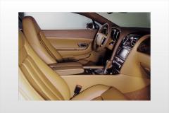 2004 Bentley Continental GT interior