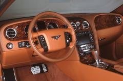2007 Bentley Continental GT interior