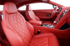 2012 Bentley Continental GT interior