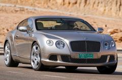 2012 Bentley Continental GT exterior
