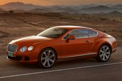 2012 Bentley Continental GT exterior
