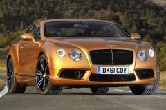 2013 Bentley Continental GT exterior