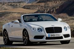 2013 Bentley Continental GTC exterior