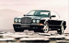 2001 Bentley Continental exterior