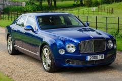 2014 Bentley Mulsanne exterior