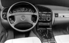 1992 BMW 3-Series interior