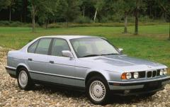 1991 BMW 5-Series exterior