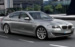 2011 BMW 5-Series exterior