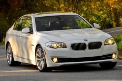 2012 BMW 5-Series exterior