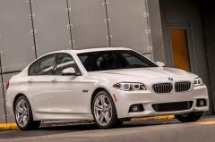 2015 BMW 5-Series exterior