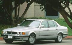 1991 BMW 7-Series exterior