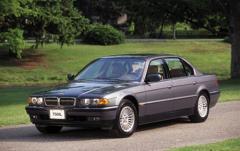 2001 BMW 7-Series exterior