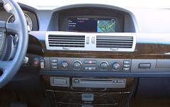 2004 BMW 7-Series interior