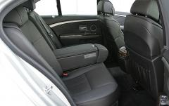 2006 BMW 7-Series interior