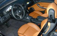 2002 BMW M3 interior