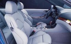 2004 BMW M3 interior
