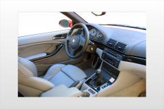 2006 BMW M3 interior