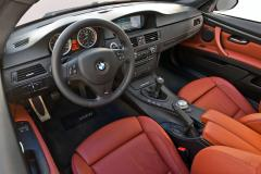 2012 BMW M3 interior
