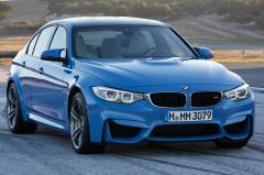 2015 BMW M3 exterior