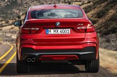 2018 BMW X4 exterior