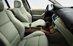 2000 BMW X5 interior