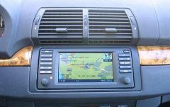 2002 BMW X5 interior