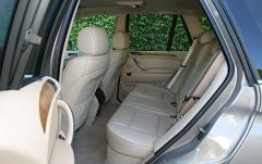 2005 BMW X5 interior