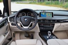 2018 BMW X5 interior