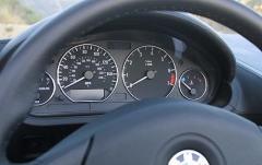 2000 BMW Z3 interior