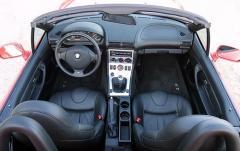 2002 BMW Z3 interior