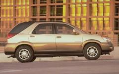 2002 Buick Rendezvous exterior