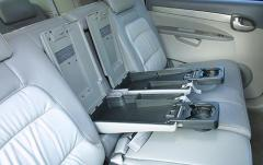 2005 Buick Rendezvous interior