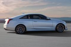 2017 Cadillac ATS-V exterior