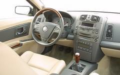 2003 Cadillac CTS interior