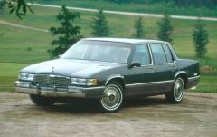 1990 Cadillac Deville exterior