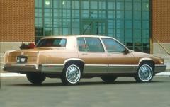 1993 Cadillac Deville exterior