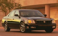 2000 Cadillac Deville exterior