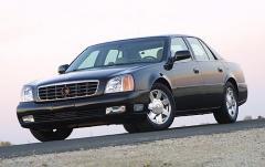 2002 Cadillac Deville exterior